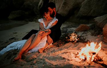Kyriakos & Bonnie Thessaloniki White On Black Studio Wedding Photography