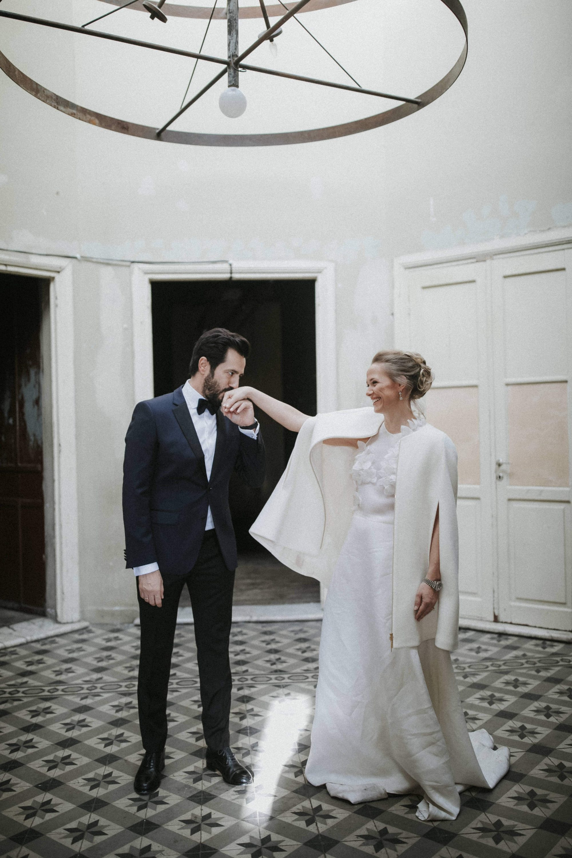 Idil & Emre Wedding In Thessaloniki Greece White On Black Studio Photography (1)