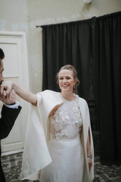 Idil & Emre Wedding In Thessaloniki Greece White On Black Studio Photography (2)