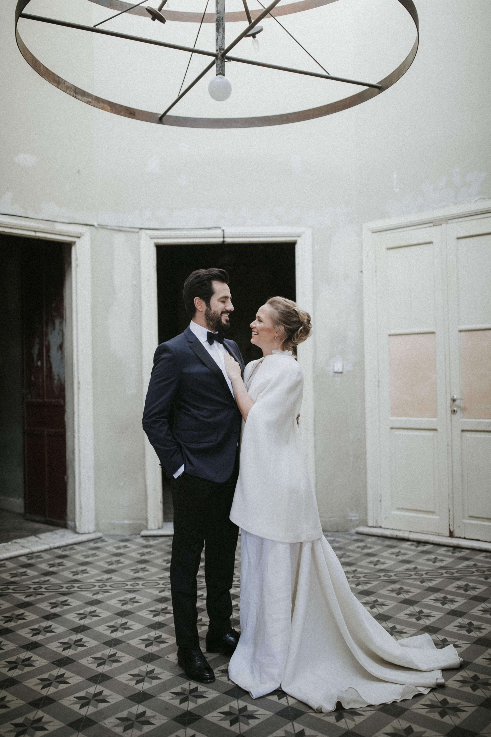 Idil & Emre Wedding In Thessaloniki Greece White On Black Studio Photography (3)