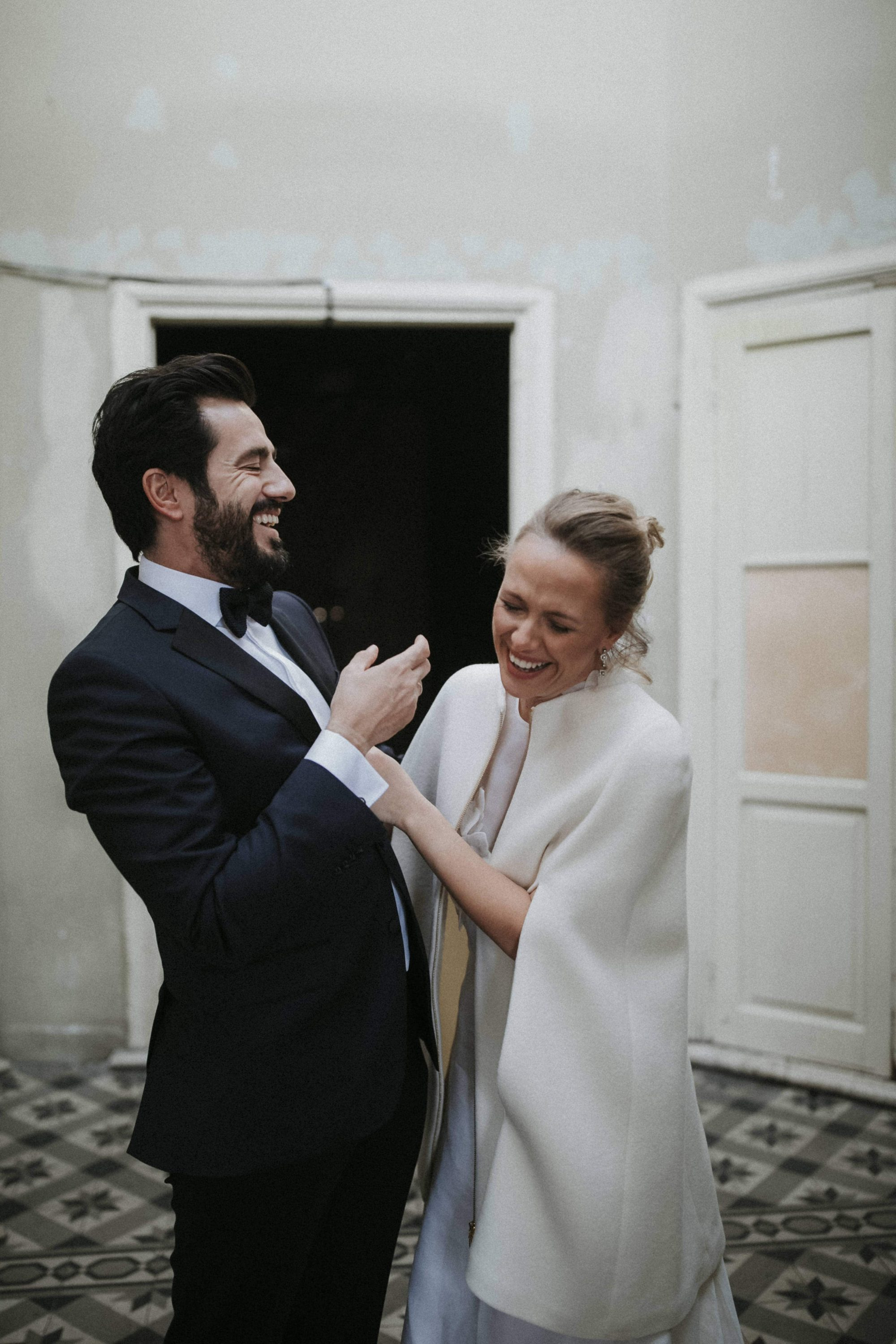 Idil & Emre Wedding In Thessaloniki Greece White On Black Studio Photography (4)