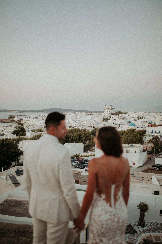 Wedding In Paros Tania & Frank White On Black Studio Wedding Photography (311)