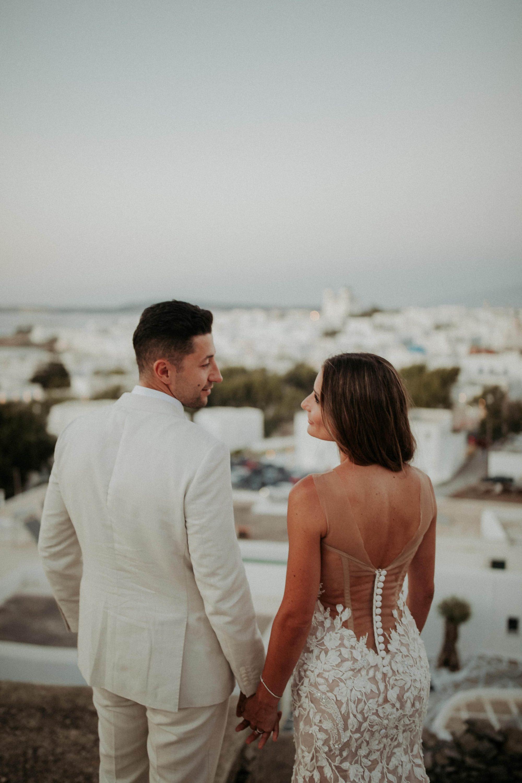 Wedding In Paros Tania & Frank White On Black Studio Wedding Photography (312)